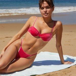 Pacsun Kendall & Kylie Pink Del Mar Bikini NWT